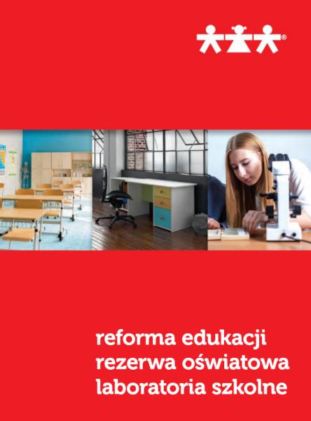 Nowa Szkola. Katalog. Reforma Edukacji. Rezerwa Oświatowa. Laboratoria Szkolne