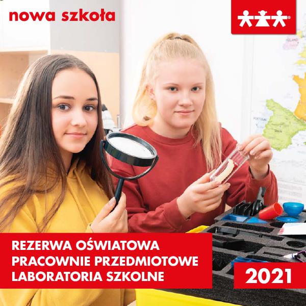 Katalog Subwecja Oświatowa i Laboratoria Szkolne 2020/2021. Nowa Szkoła